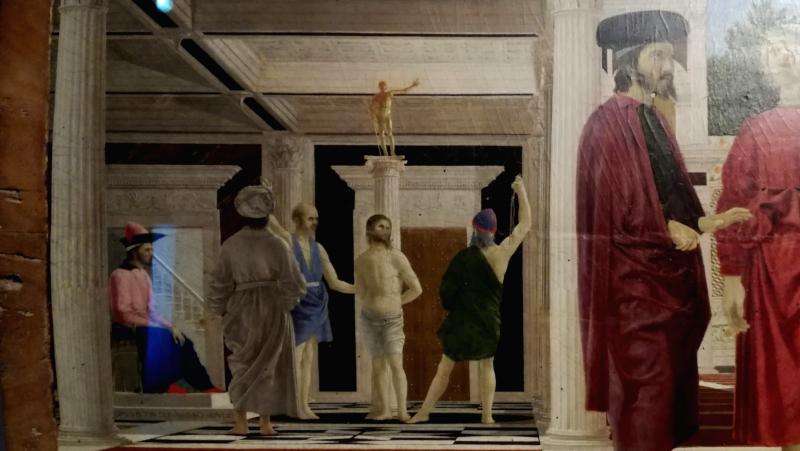La flagellazione Urbino