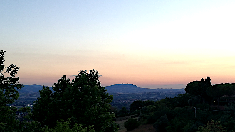 Vista su San Marino