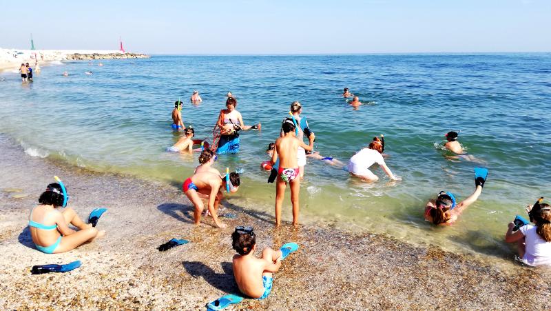 Snorkeling a Vallugola